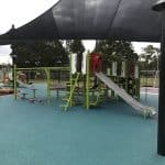 Smartplay Venti compact play unit for children aged 5 to 12 years of age under large shade sail