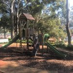 Treehouse Playground in Drummer Parry Park by Parkequip