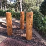 Hand Carved Totem Poles by Parkequip