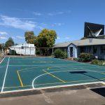 Rubber Wetpour Sports Court