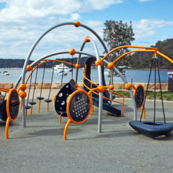 Weevos playground unit on Ettalong Foreshore