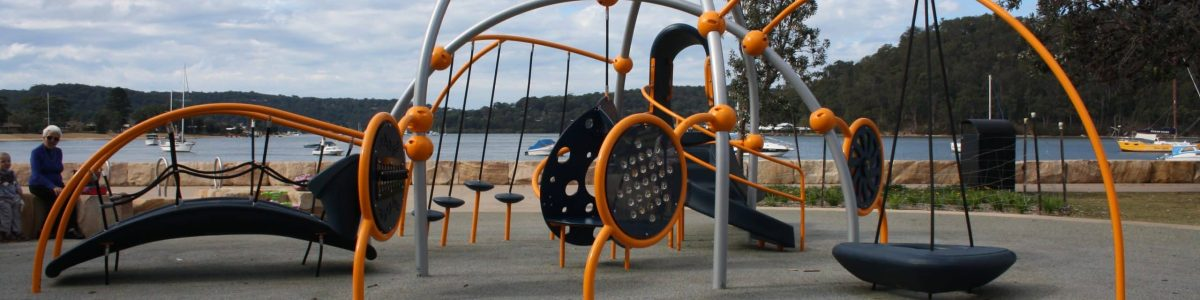Weevos childrens play unit on Ettalong Foreshore